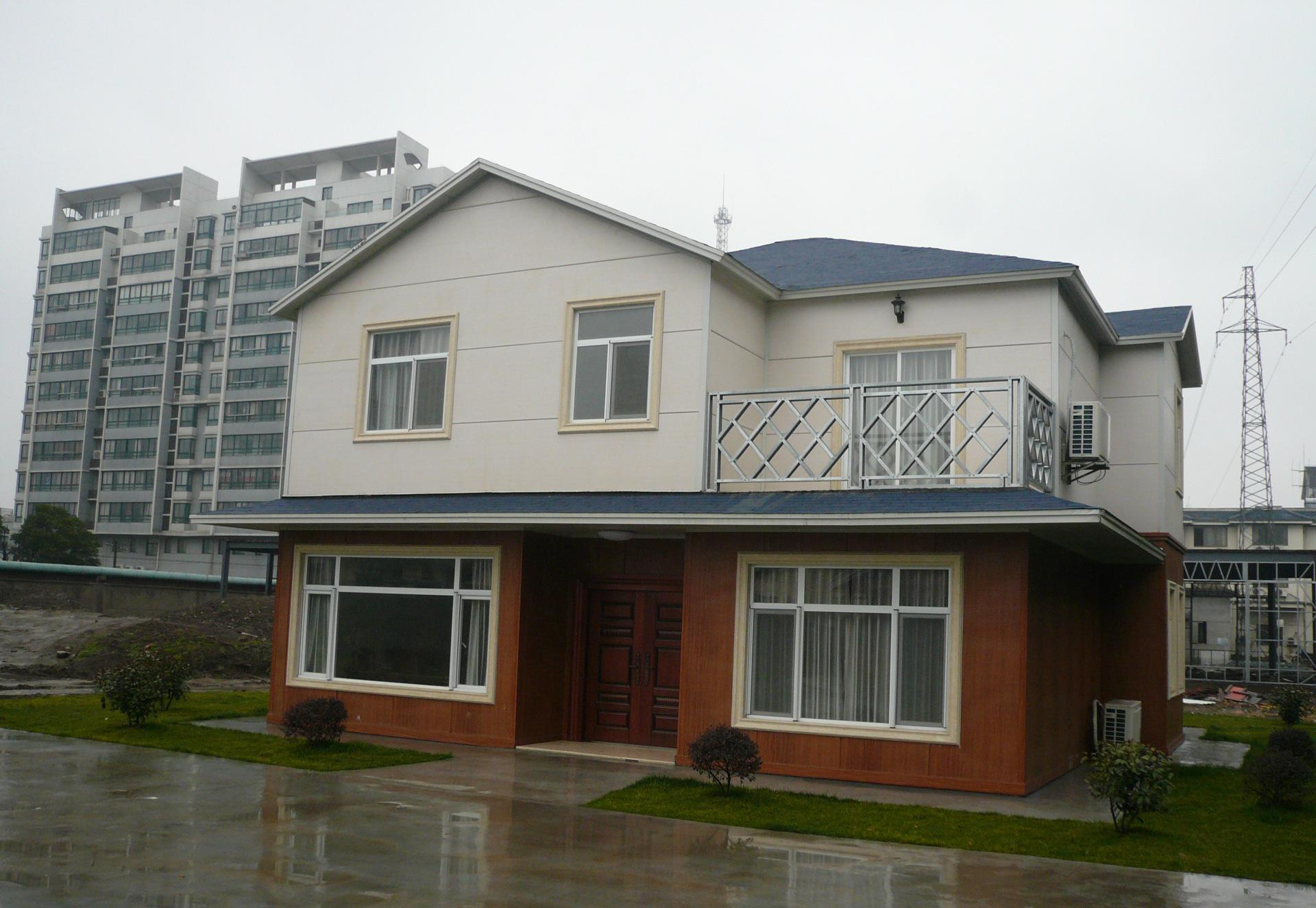神龙轻钢别墅:引领轻钢结构房屋大时代